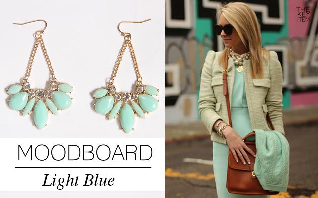 Moodboard // Light Blue