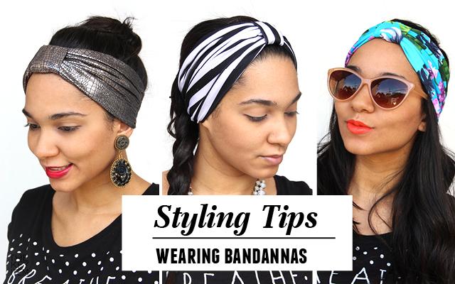 Styling Tips // Wearing Bandannas