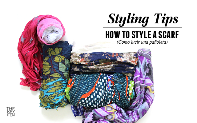 Styling Tips // How To Style A Scarf