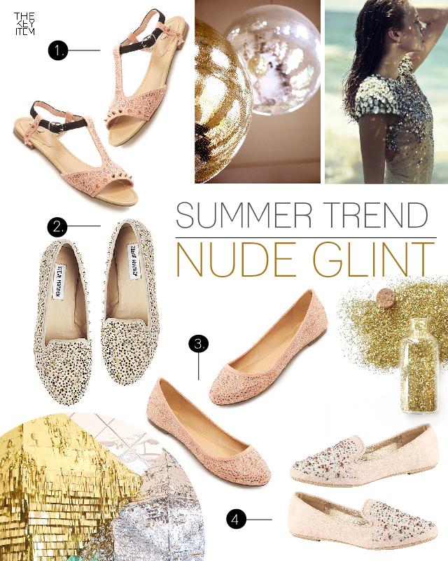 Summer Trend // Nude Glint