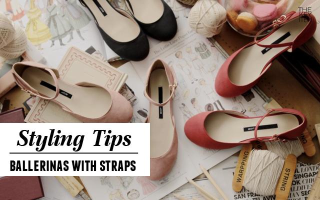 3 maneras de usar zapatos de balerinas con tirantes