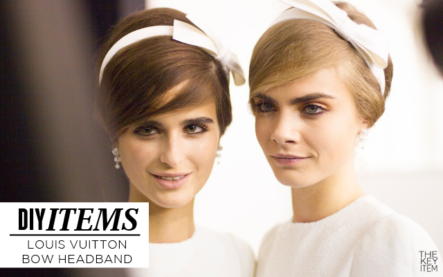 Hazlo Tu Mismo | Cintillo de Lazo inspirado en Louis Vuitton