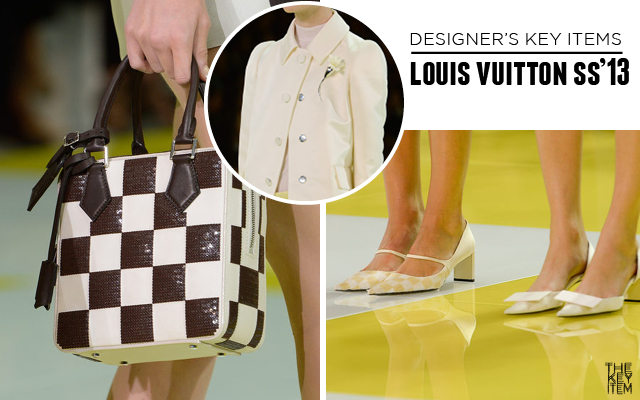 Designer's Key Items // Louis Vuitton SS'13