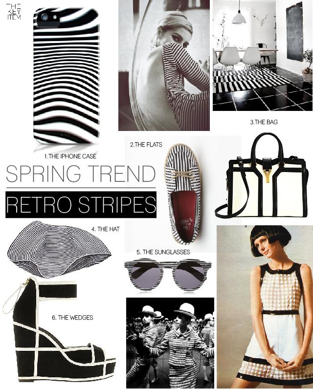 Spring Trend // Retro Stripes