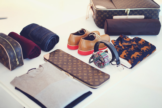 Art Of Packing with LV