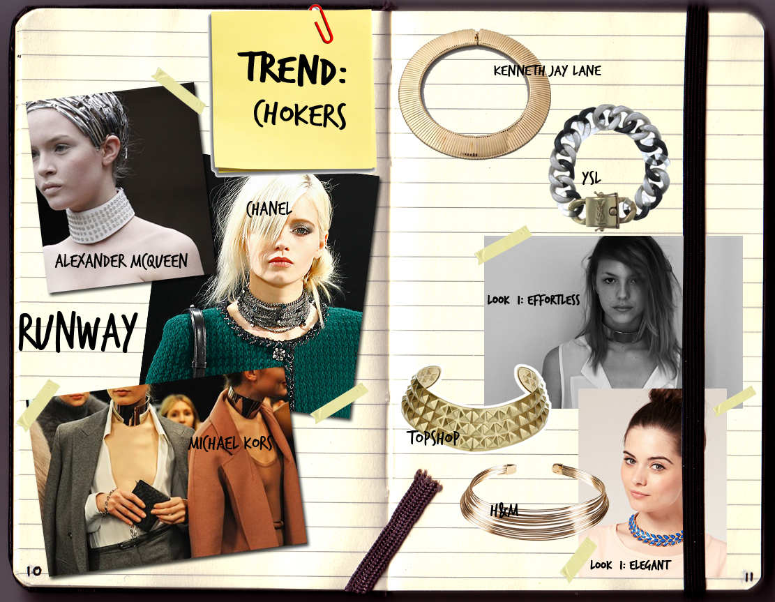 Accessories Trend: Chokers