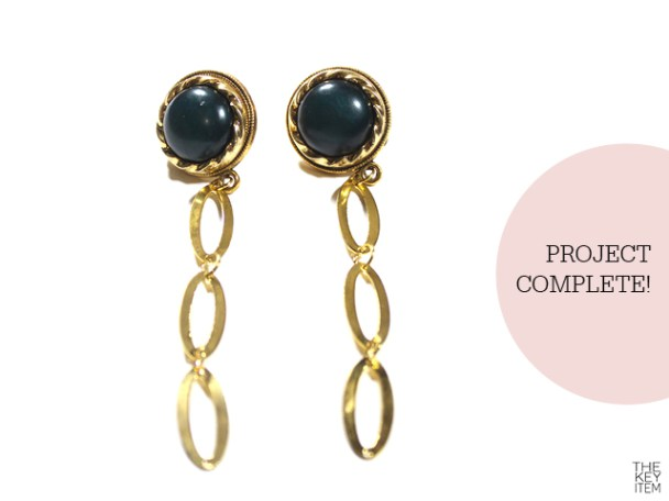 Pretty Easy DIY Chain Earrings super easy DIY Chain Earrings, inspired by the latest collection from Eddie Borgo and it only takes a few minutes! Are you ready?