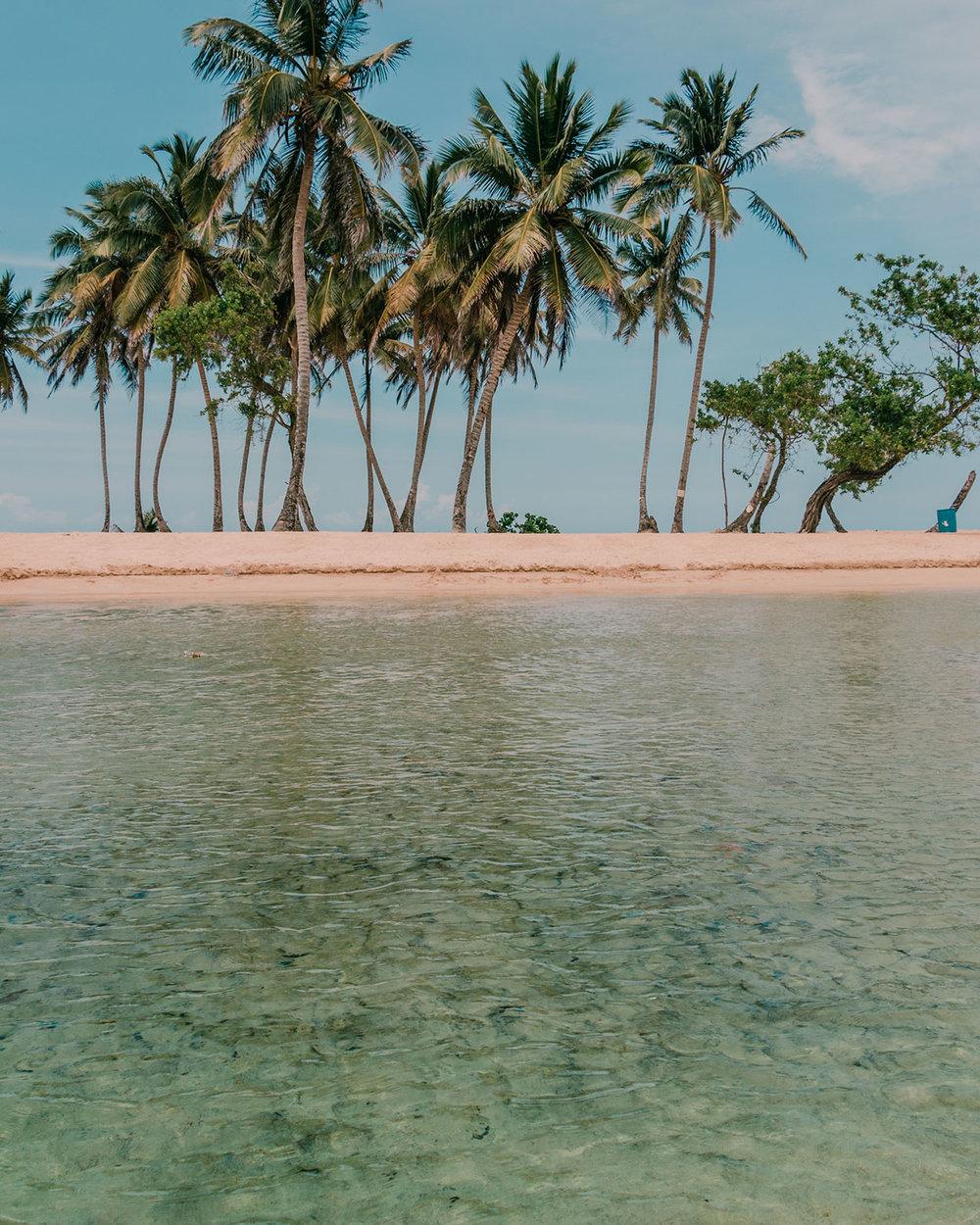 Arroyo Salado - playa con balneario