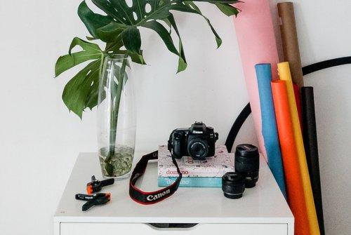 Kit Básico Para Fotografía De Productos en Redes Sociales