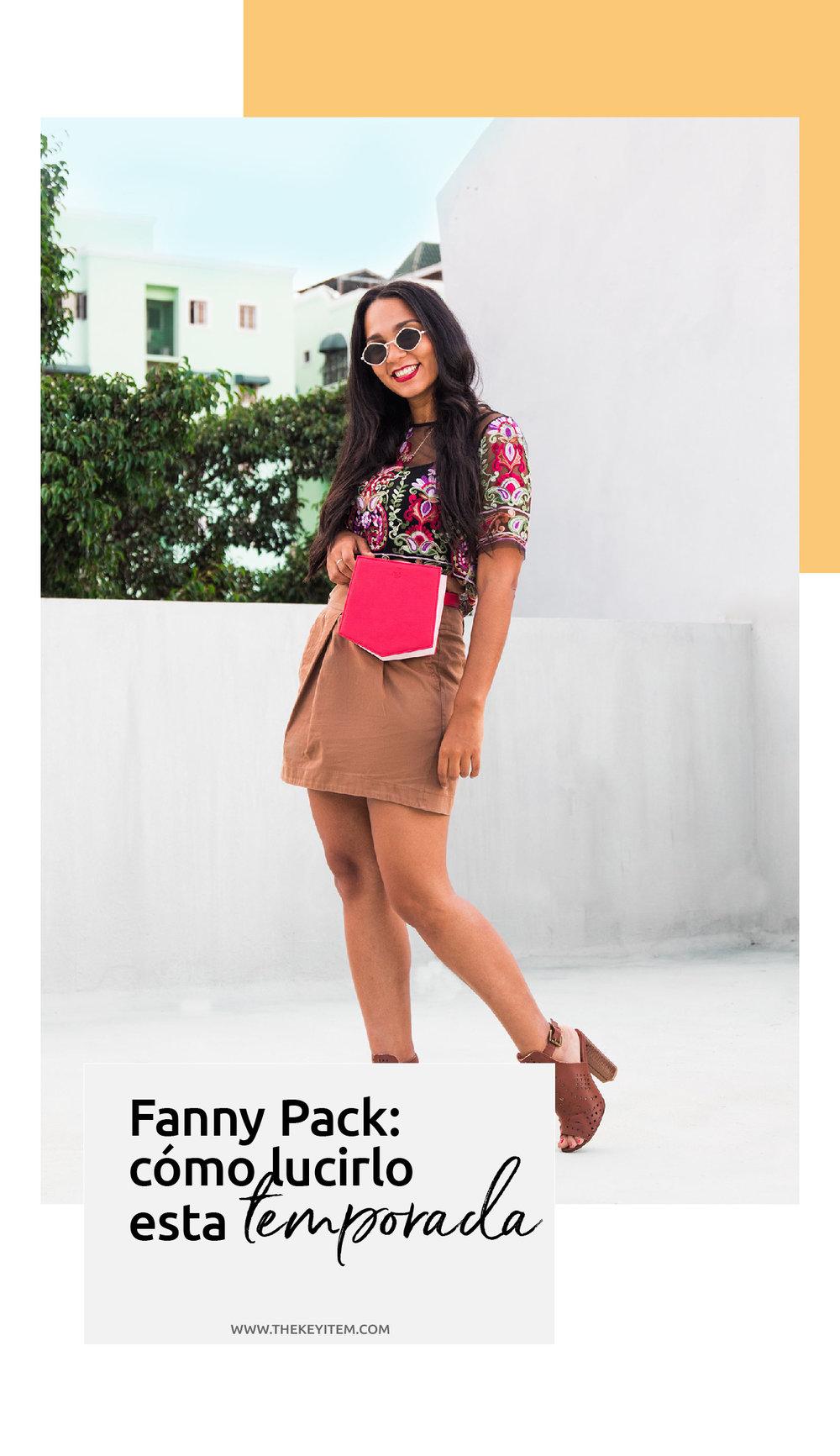 ¡Oh sí, la fanny pack están de tendencia! Esta temporada, te enseño como lucir este accesorio con tus piezas claves favoritas de una manera moderna y sofisticada.