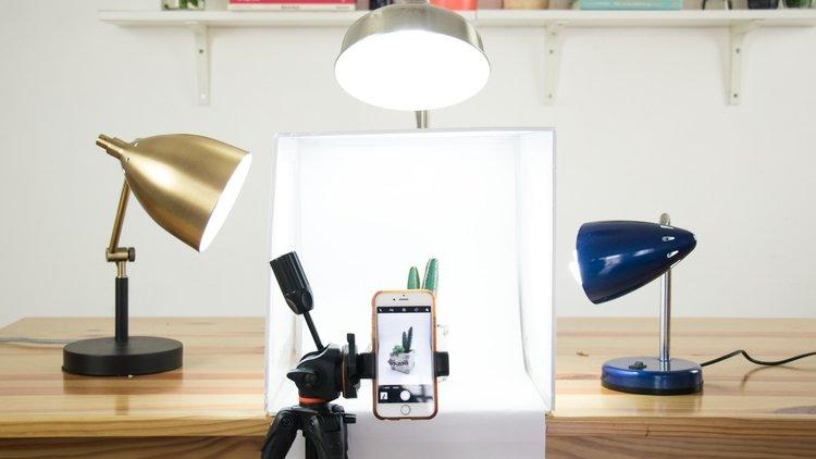 DIY | Lightbox: Estudio Para Fotos De Productos con US$10