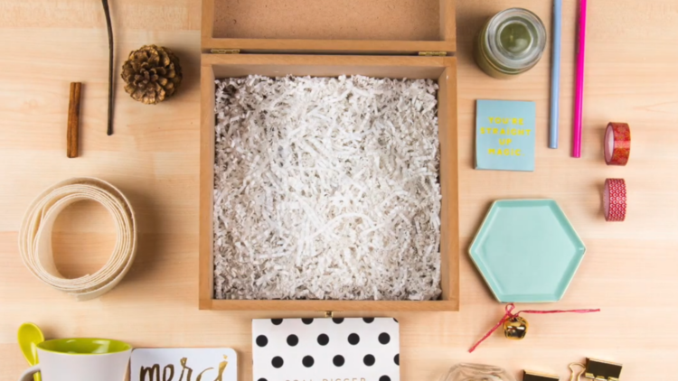 STOP MOTION - HOLIDAY GIFT BOX PARA UN EMPRENDEDOR CREATIVO (TUTORIAL)