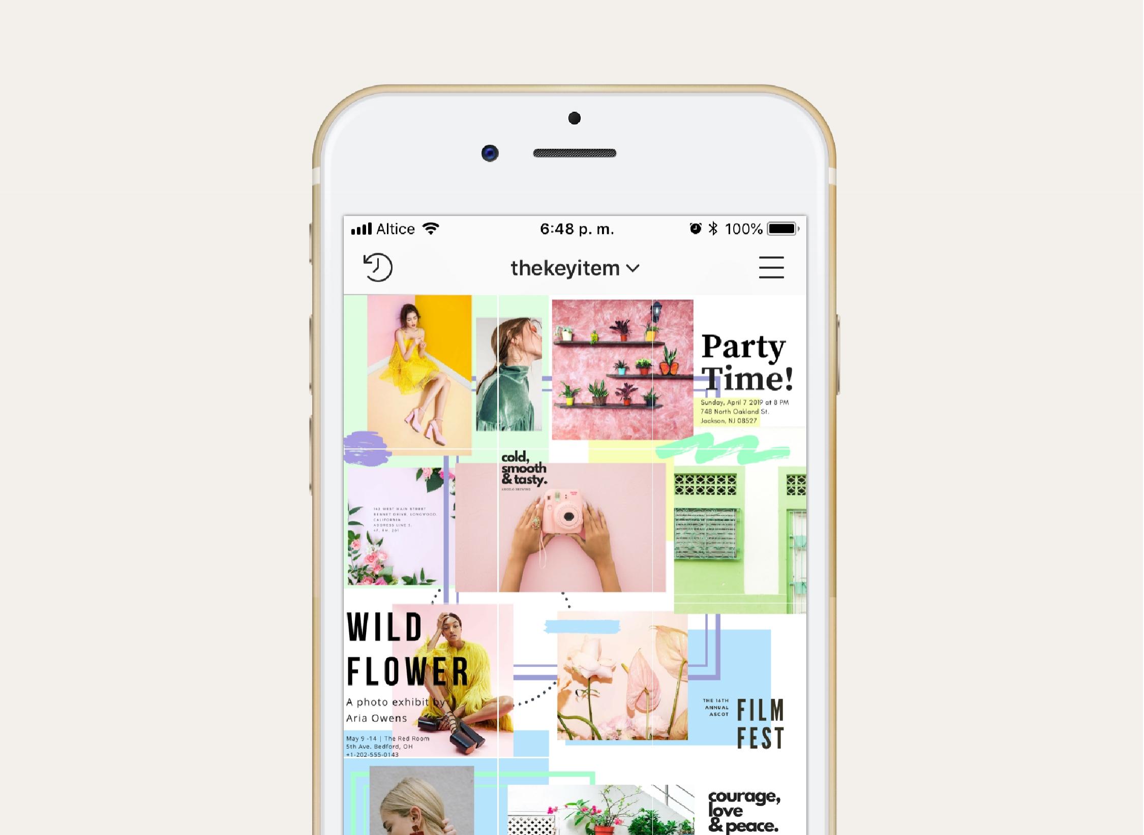Cómo Crear Un Feed De Rompecabezas En Instagram
