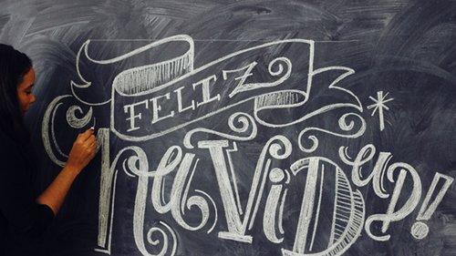 Mi Experiencia Con 'Chalk Lettering'