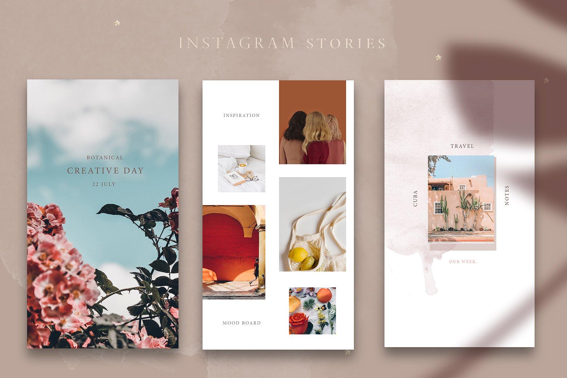 8 Plantillas de Diseño Para Crear Instagram Stories