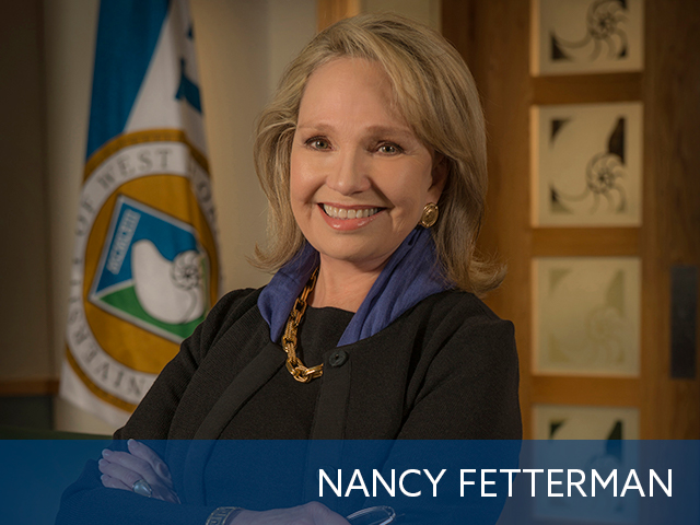 "Philanthropist & widow of the late Vice Admiral John H. ""Jack"" Fetterman, Jr."