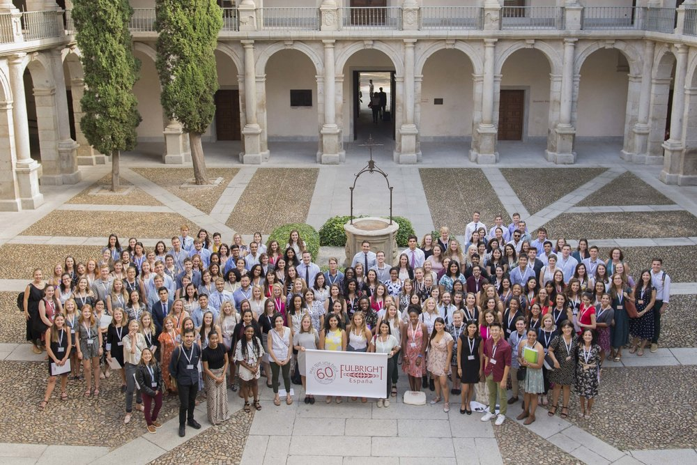 The 2018-2019 Fulbright Spain cohort.