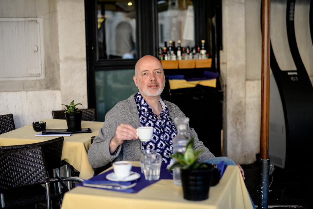 Robert Lemay in Rome