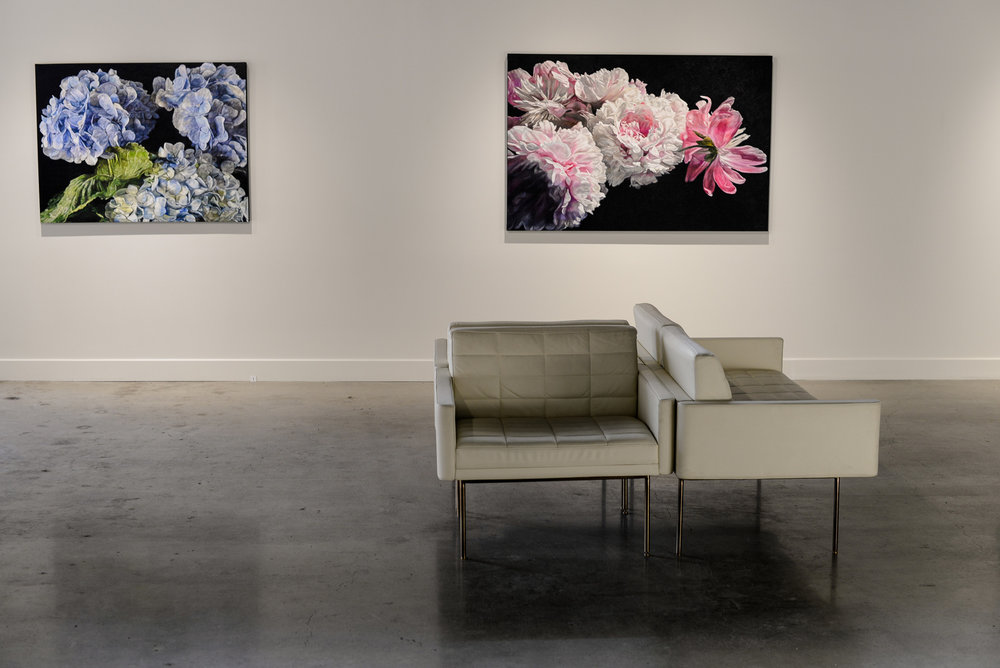 Robert Lemay paintings at The Front Gallery Edmonton