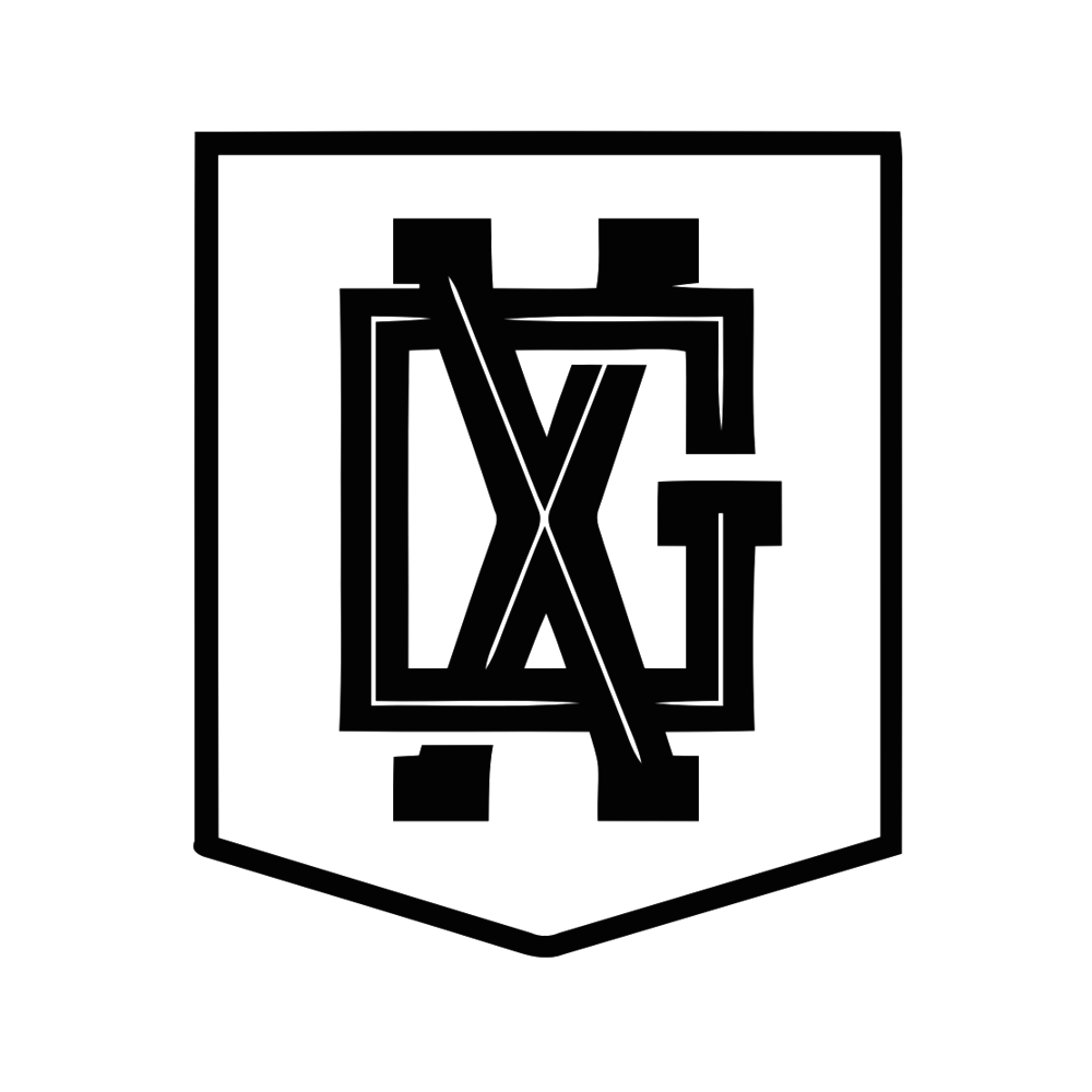 X&G - Logo - Plain+Badge+B&W_vectorized.png