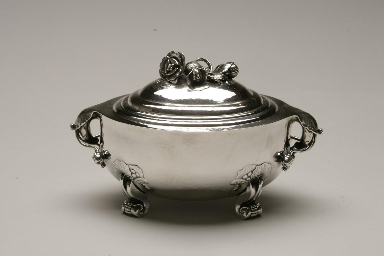 Nice Georg Jensen sterling silver, kpm porcelain, Haviland China WY92
