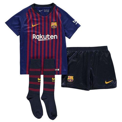 c7a1f14e50b Nike Kids FC Barcelona 2018 19 Home Kit — Second Ball. - Vintage ...