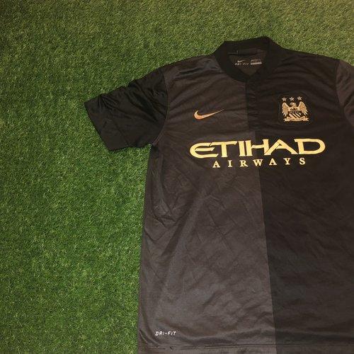 Nike Manchester City 2013 14 Away Shirt — Second Ball. - Vintage ... 21bcd7dd9