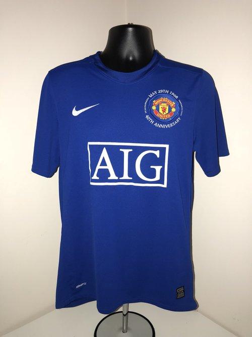 8f0ec4278 Nike Manchester United 2008 09 40th Anniversary Third Shirt — Second ...