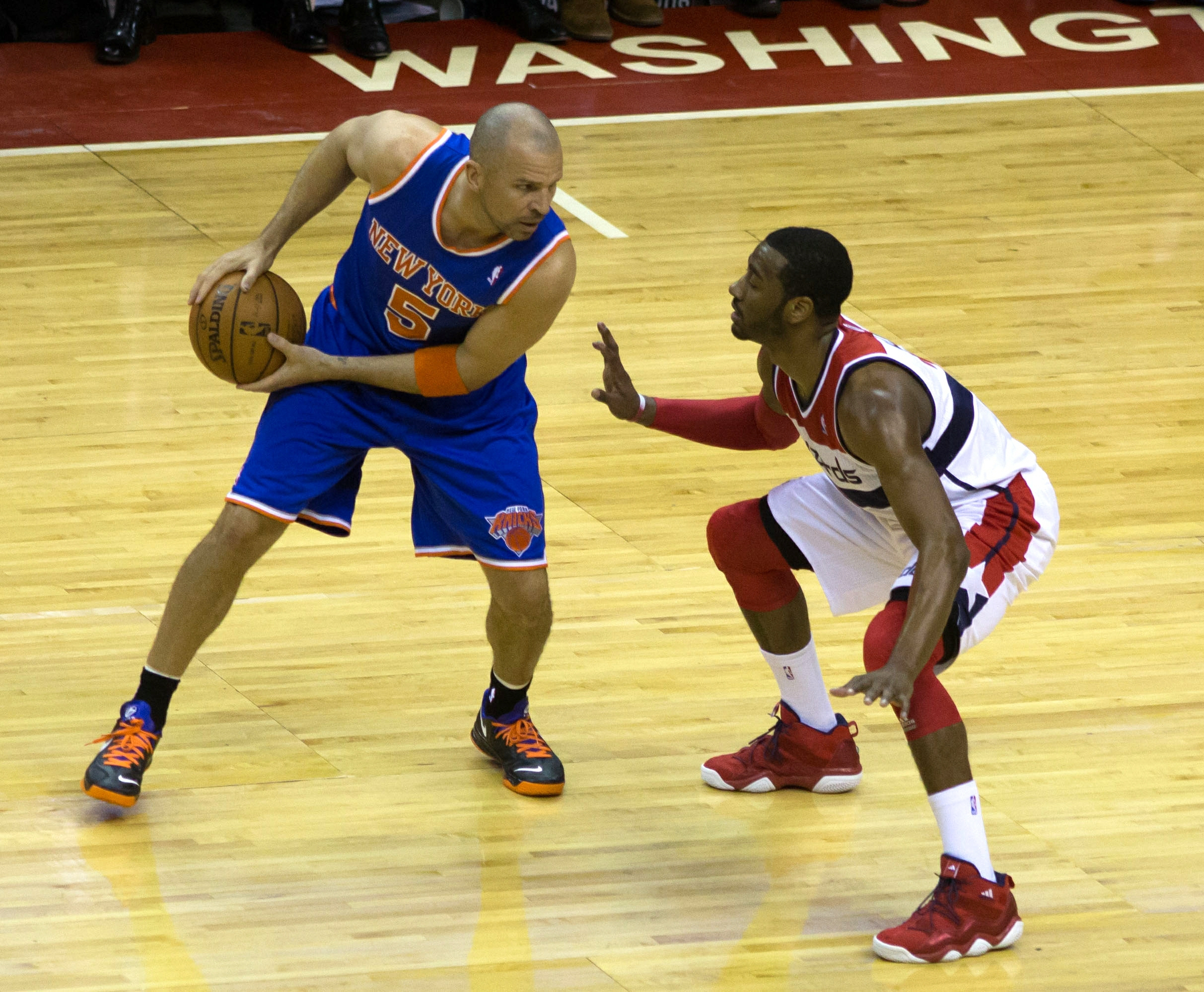 New York Knicks at Washington Wizards March 1, 2013