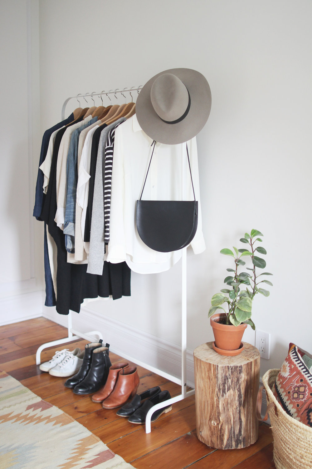 CAPSULE WARDROBE: GETTING STARTED - This Wild Home