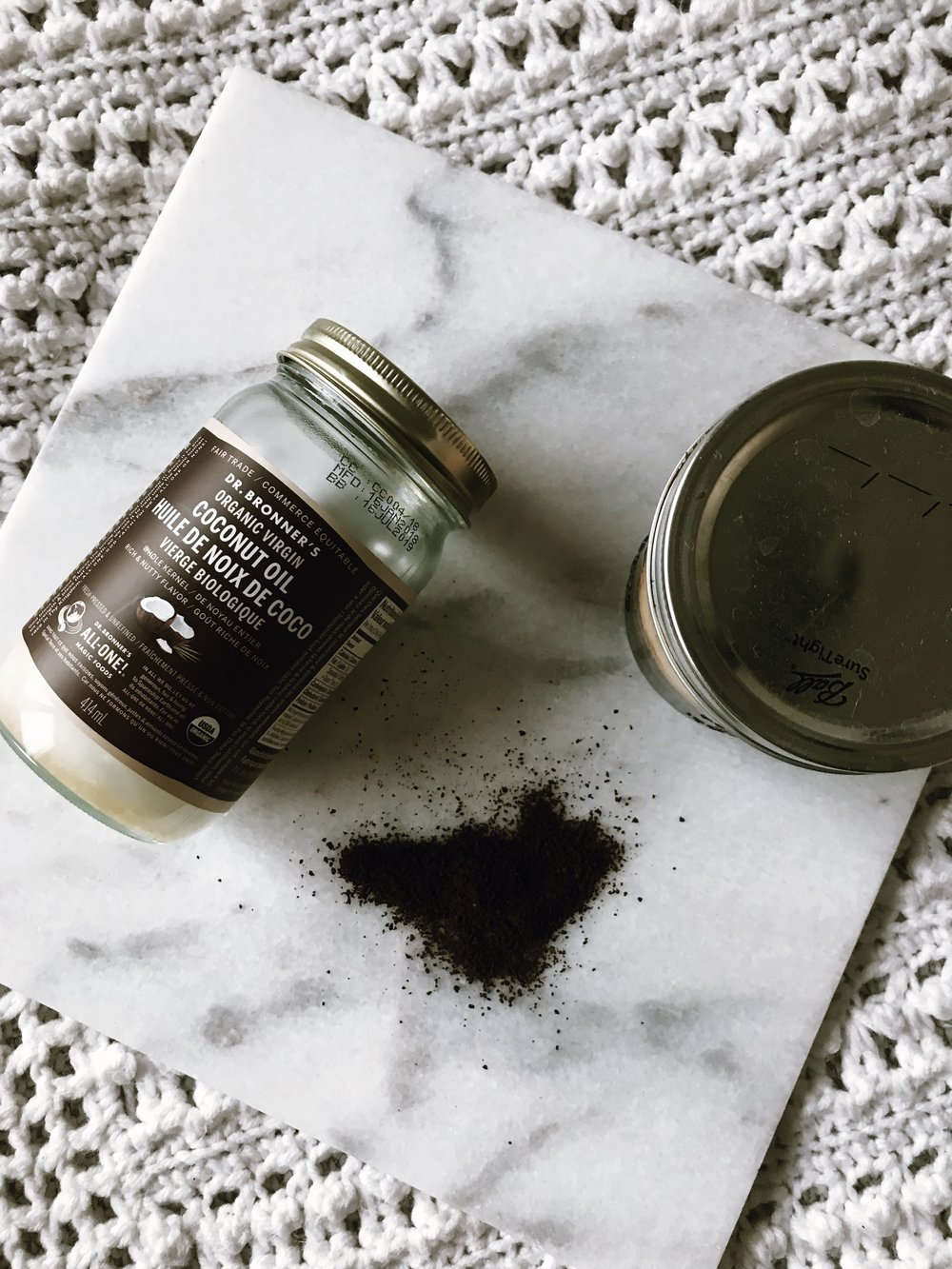 ALL ABOUT COCONUT COFFEE SCRUB - This Wild Home