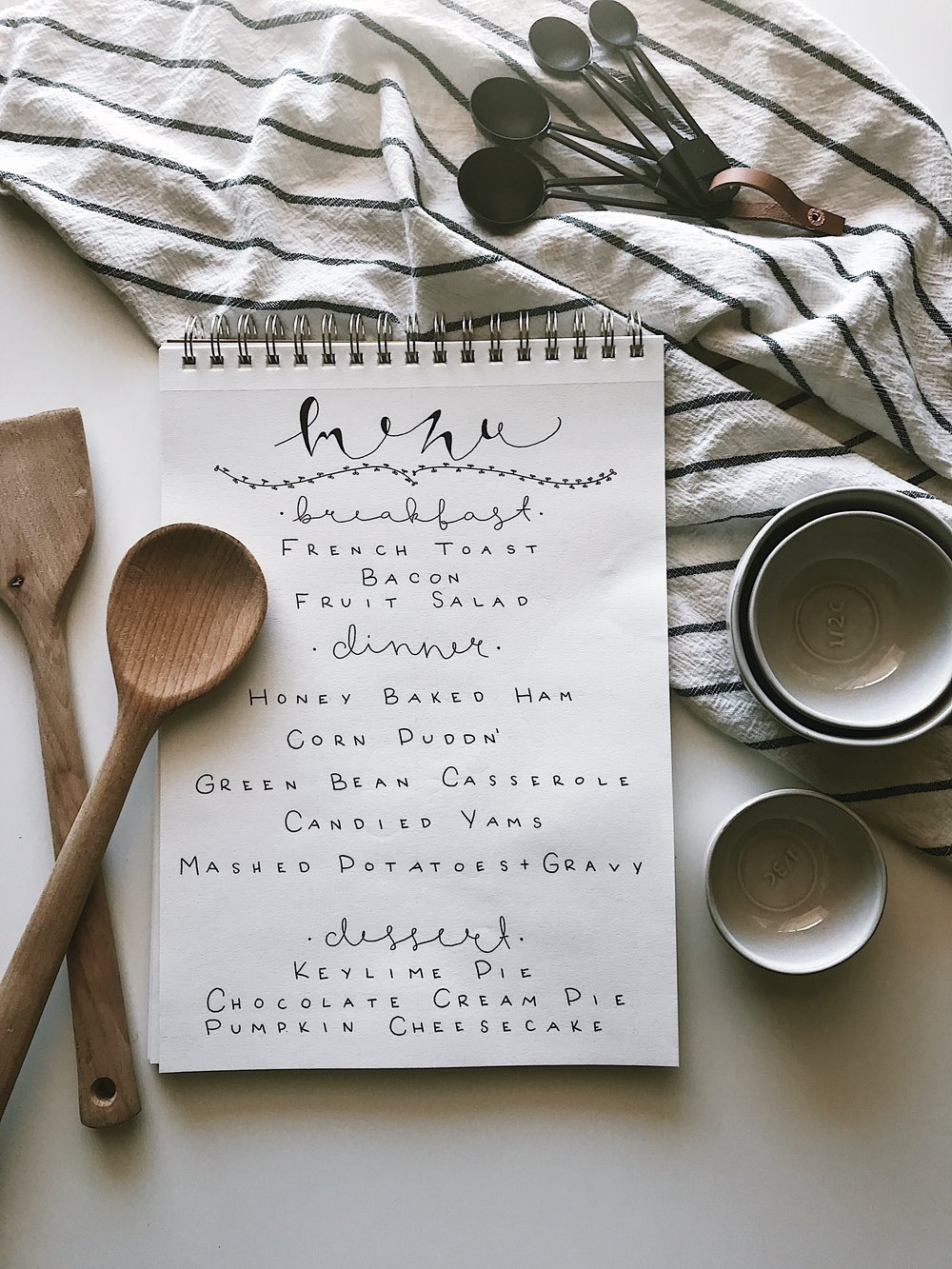 OUR THANKSGIVING MENU - This Wild Home