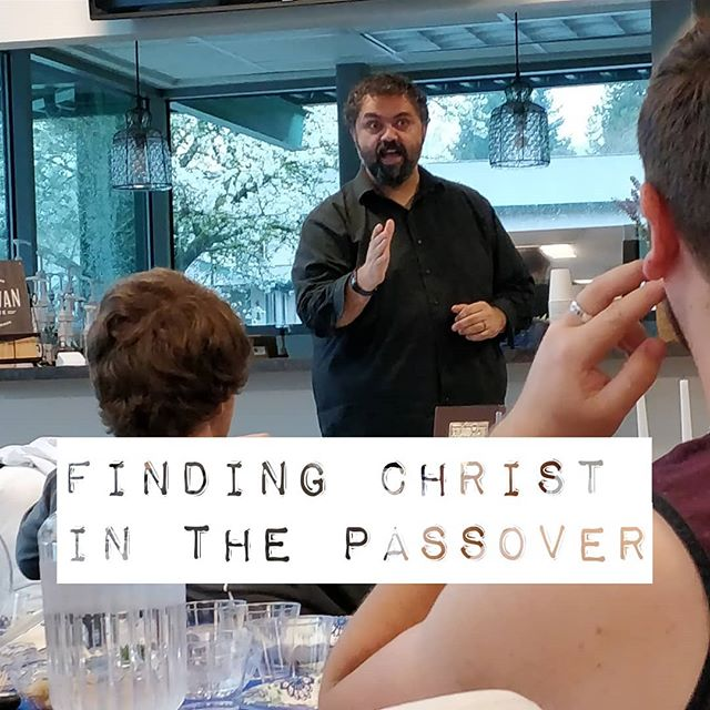 Model Seder - In the spring, around the time of Passover, we take some time out of our class day to learn about and share a Seder meal together.
