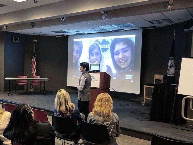 Thanks for coming out to our film screening of @ascending_afghanistan and supporting the work @afghan_ascend is doing to empower young women in Afghanistan through athletic based leadership training. The best part was being able to speak directly with some of these young women after watching the film! #GirlsAreAlsoStrong #outdoormuslims #mountains #adventure