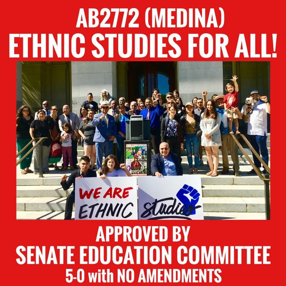 ¡Aprobaron estudios étnicos para TODOS alumnos!