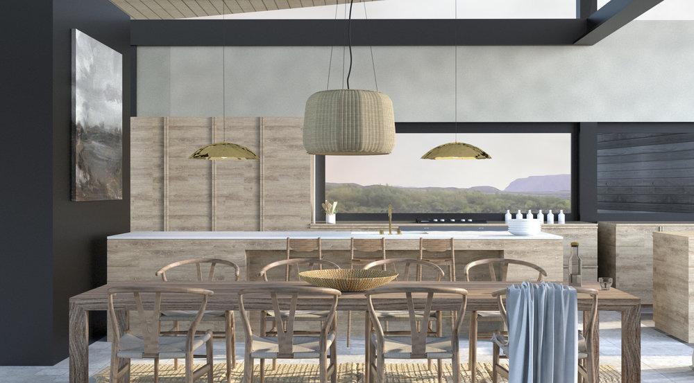 Atelier Aitken Interior Design For Tara Iti Home For SJI   Dune