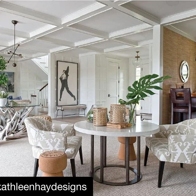 Love this spread @kathleenhaydesigns @janebeilesphoto #😍#Repost @kathleenhaydesigns with @get_repost ・・・ Summer lovin'! See the full feature on this beautiful space in the current issue of @athomefc . Link in bio.  Collaboration with @chipwebsterarchitecture and @metkate  with 📷 @janebeilesphoto . . . #interiors #interiordesign #interiorstyling #design #designer #decor #instadecor #inspiration #fineinteriors #luxe #style #art #architecture #luxury #luxuryliving #kathleenhaydesigns #kashtheleopard #nantucket #custom #ack #summerhouse #waterviews #seaside #dreamy