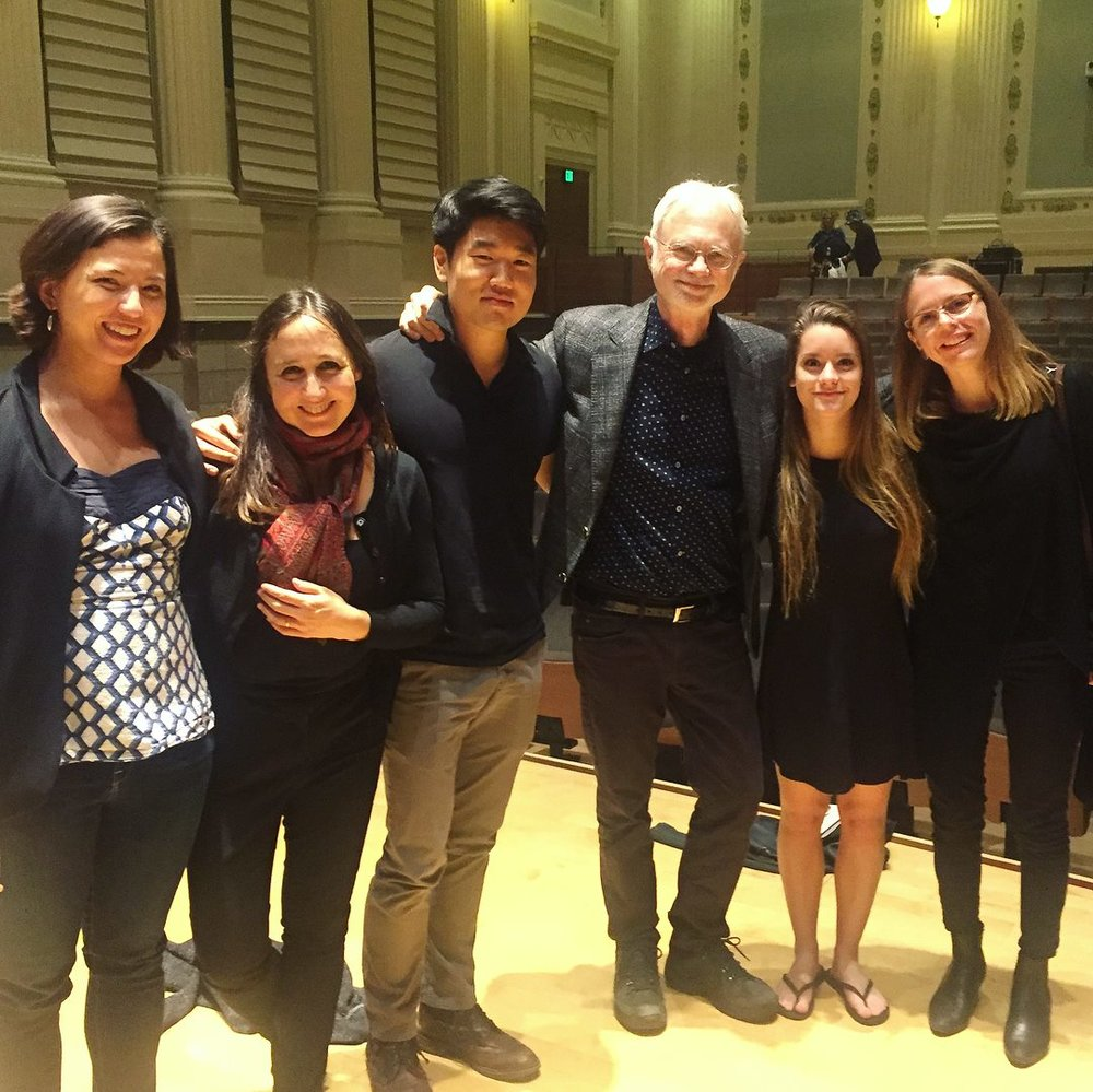 John Adams and the Berkeley Sounds Composer Fellows and Mentors
