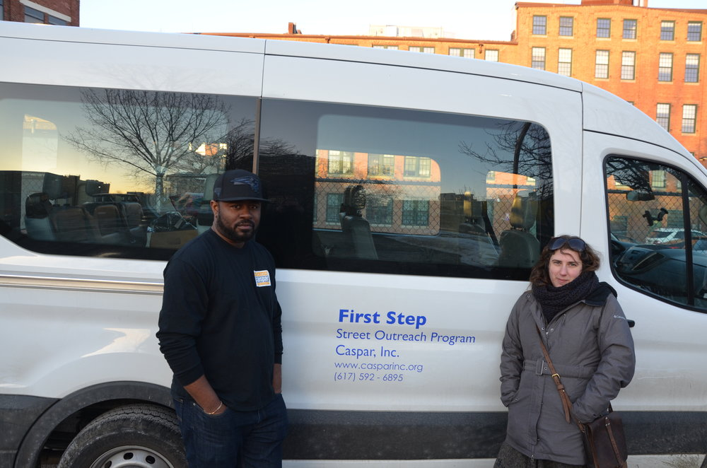 CASPAR FirstStep - Our FirstStep Street Outreach program offers life-saving alternatives to unsheltered homeless men and women who are affected by substance use disorders, mental illness and medical complications associated with life on the streets.