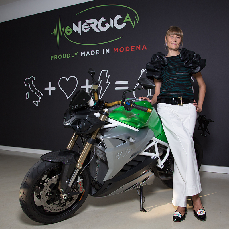 Livia Cevolini - CEO Energica Motor Company S.p.A. and Marketing & Sales Director CRP Group