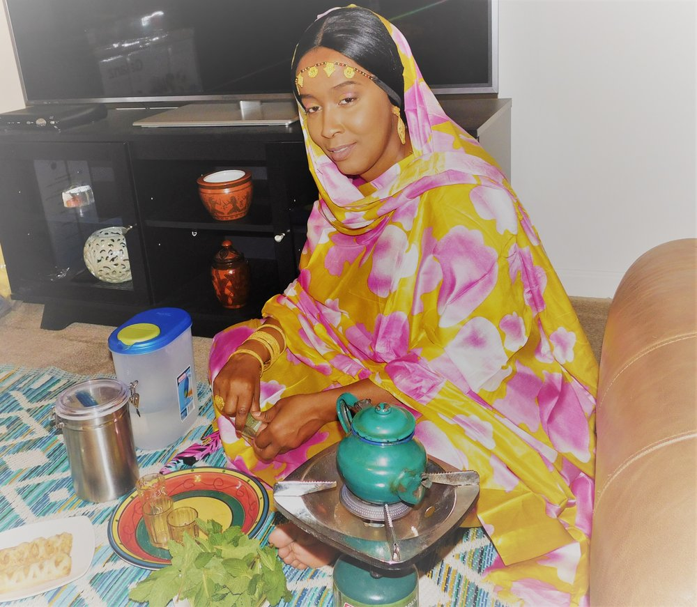 Traditional Mauritanian Mulfos