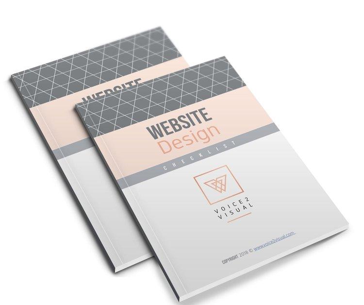 Web Design Checklist - Free Download — Voice2Visual