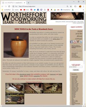 W O R T H E F F O R T Woodworking