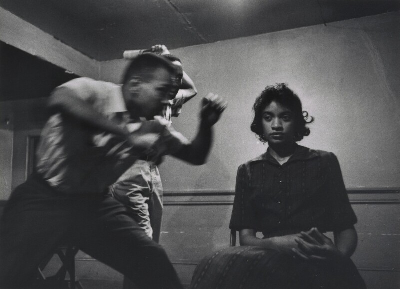 Passive Resistance TRaining with SNCC, 1961. Photo: James Karales
