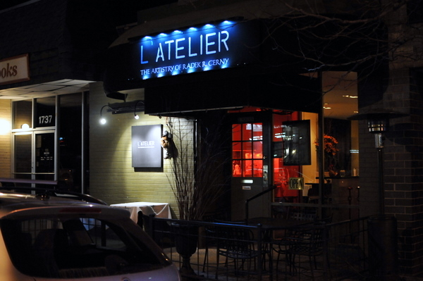 L'Atelier1739 Pearl StreetBoulder, CO 80302(303) 442-7233 -