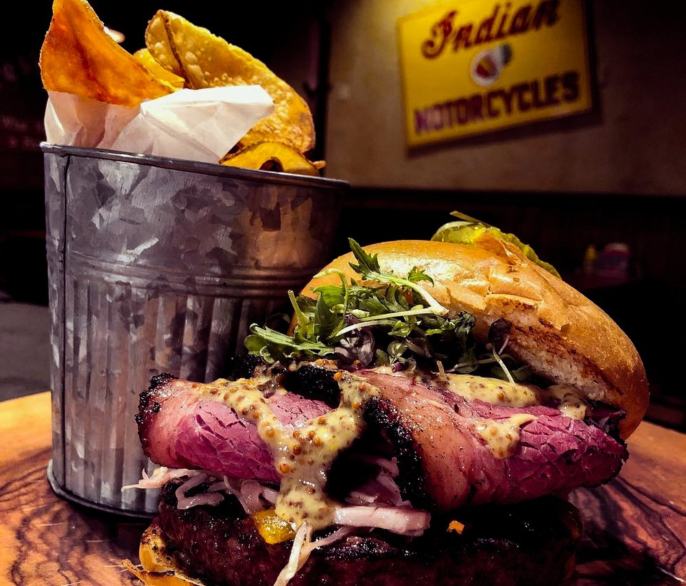 Corned Beef Burger