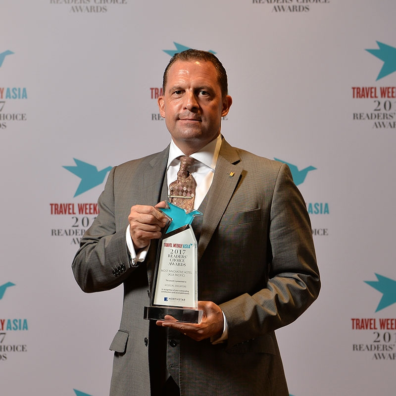 Most Innovative Hotel - Asia Pacific   M Social Singapore