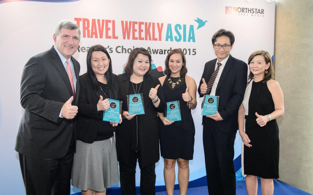 TRAVEL AGENCY CATEGORY WINNERS