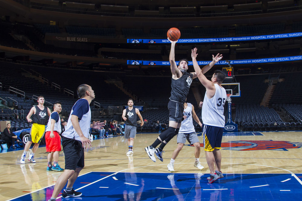 Inter-League Finals at MSG