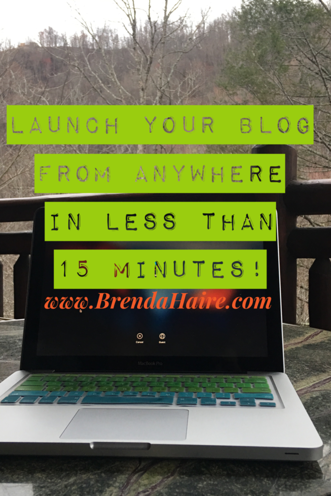 Launch your blog in less that 15 minutes